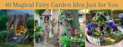 40 Magical Fairy Garden Idea Just for You