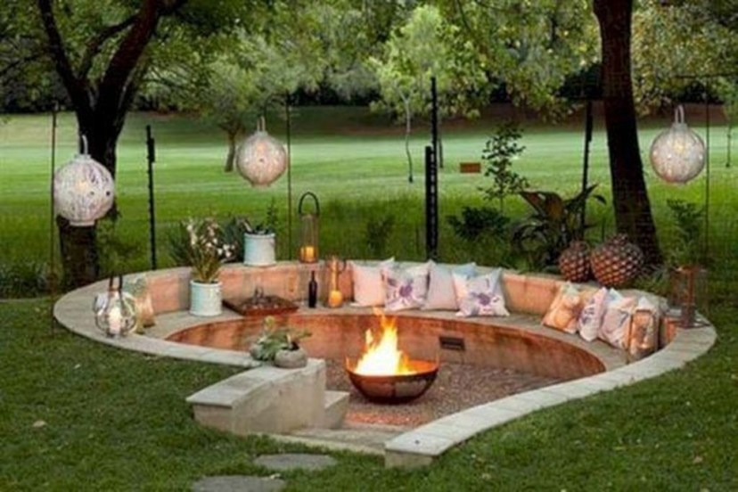 Amazing DIY Fire Pit Idea For Cold Day 08