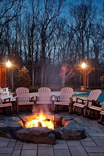 Amazing DIY Fire Pit Idea For Cold Day 14