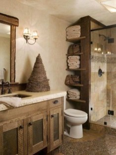 Amazing Farmhouse Bathroom Decor For Small Space 05