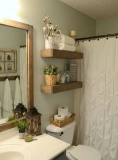 Amazing Farmhouse Bathroom Decor For Small Space 20