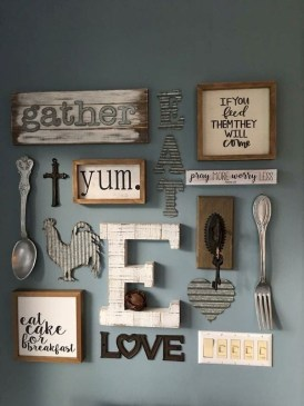 Amazing Farmhouse Wall Decoration Everyone Will Love 33