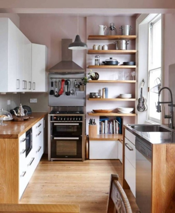 Amazing Modern Farmhouse Kitchen Decoration For Small Space 06