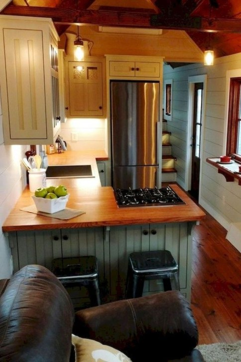 Amazing Modern Farmhouse Kitchen Decoration For Small Space 11