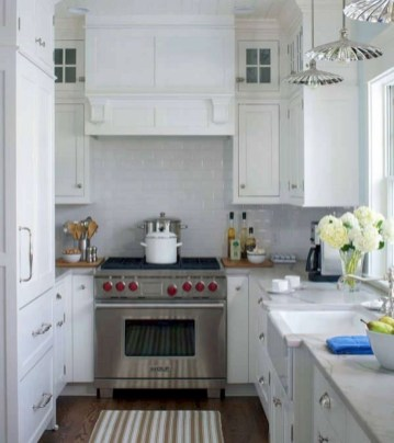 Amazing Modern Farmhouse Kitchen Decoration For Small Space 17