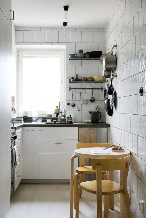 Amazing Modern Farmhouse Kitchen Decoration For Small Space 31
