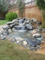 Awesome DIY Ponds Ideas With Small Waterfall 28