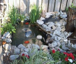 Awesome DIY Ponds Ideas With Small Waterfall 33