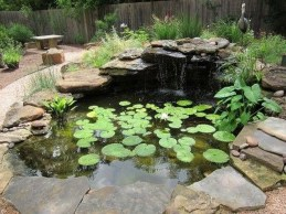 Awesome DIY Ponds Ideas With Small Waterfall 34