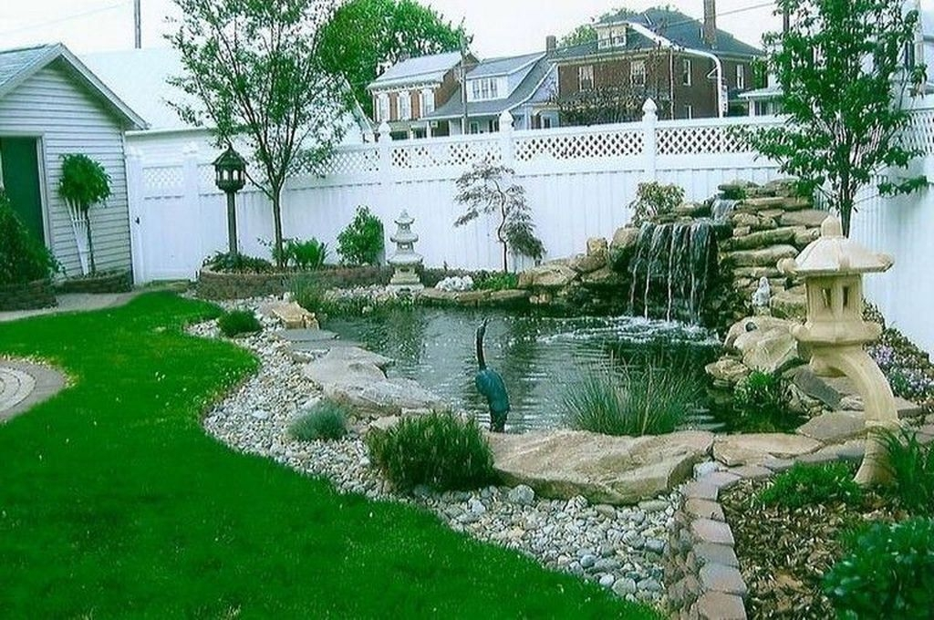 Awesome DIY Ponds Ideas With Small Waterfall 39