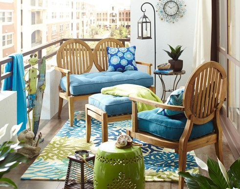 Comfy Small Seating Area In Your Balcony 10