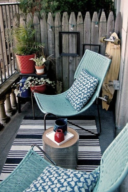 Comfy Small Seating Area In Your Balcony 18
