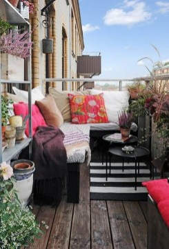 Comfy Small Seating Area In Your Balcony 19