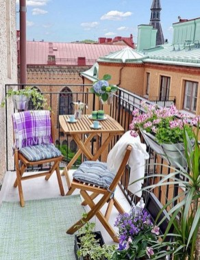 Comfy Small Seating Area In Your Balcony 22