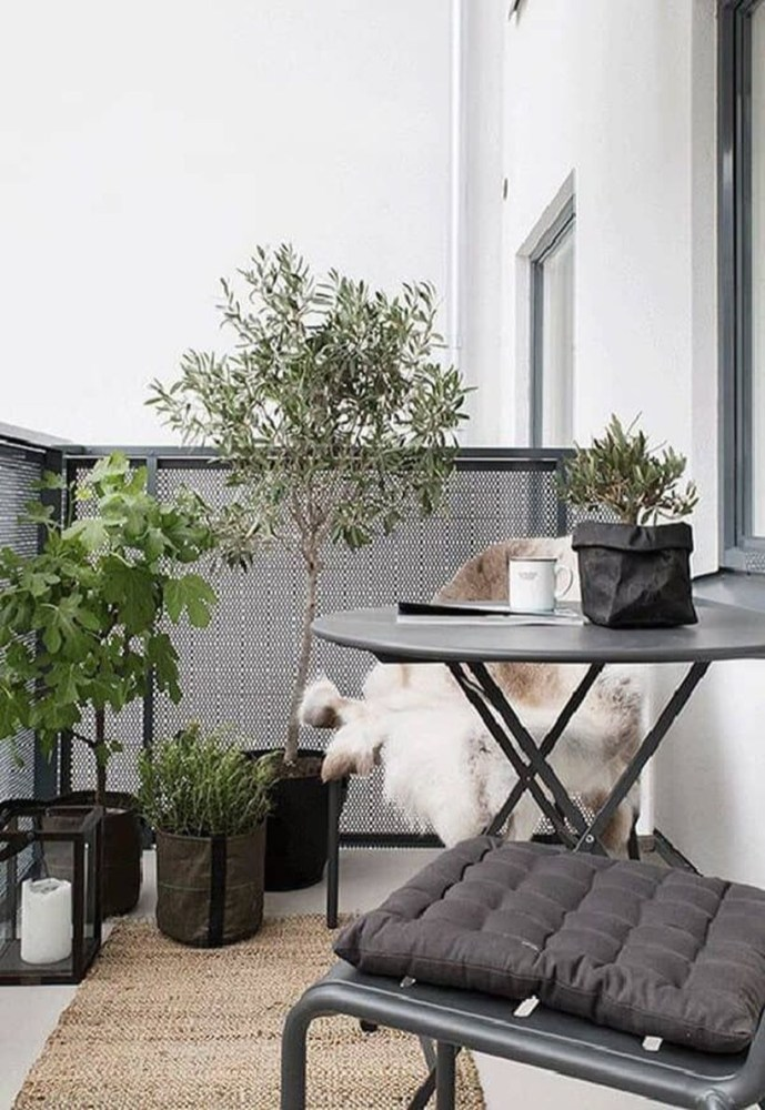 Cozy Garden Balcony Design And Inspiration 06