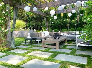 Fabulous Seating Area In The Garden 11