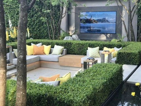 Fabulous Seating Area In The Garden 14