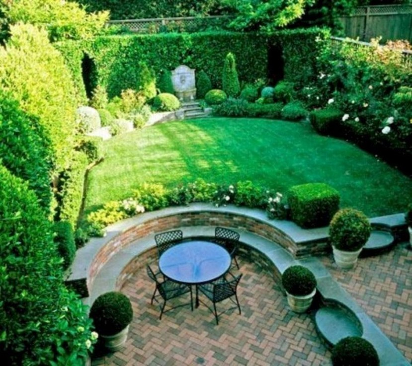 Fabulous Seating Area In The Garden 26