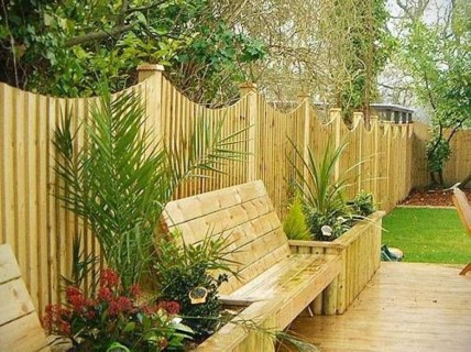 Gorgeous Garden Fences To Beautify Your Backyard 08