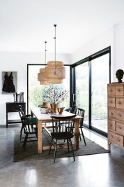 Inspiring Dining Room Table Design With Modern Style 18