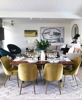 Inspiring Dining Room Table Design With Modern Style 21