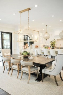 Inspiring Dining Room Table Design With Modern Style 27