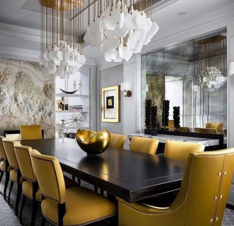 Inspiring Dining Room Table Design With Modern Style 36