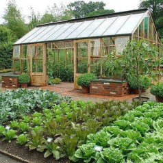 Inspiring Vegetable Garden Design For Your Backyard 40
