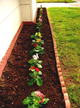 Perfect Bed Garden Design For Your Front Yard 32