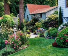 Perfect Bed Garden Design For Your Front Yard 33