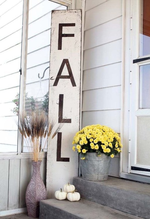 Perfect Front Porch Decoration For Fall 29