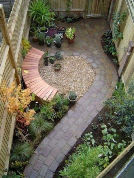 Simple But Beautiful Backyard Landscaping Idea On Budget 02