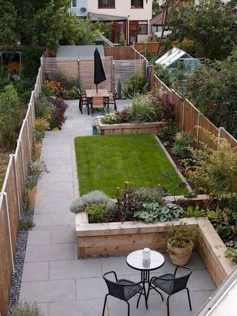 Simple But Beautiful Backyard Landscaping Idea On Budget 14