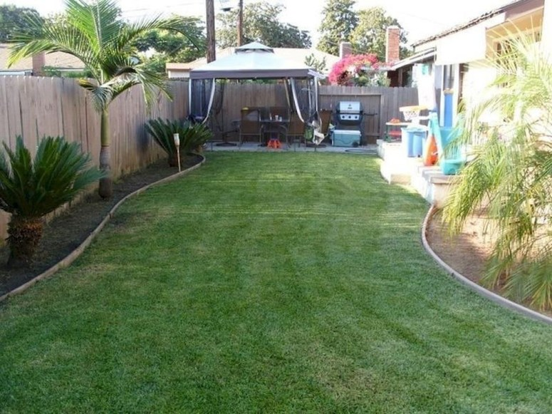 Simple But Beautiful Backyard Landscaping Idea On Budget 17