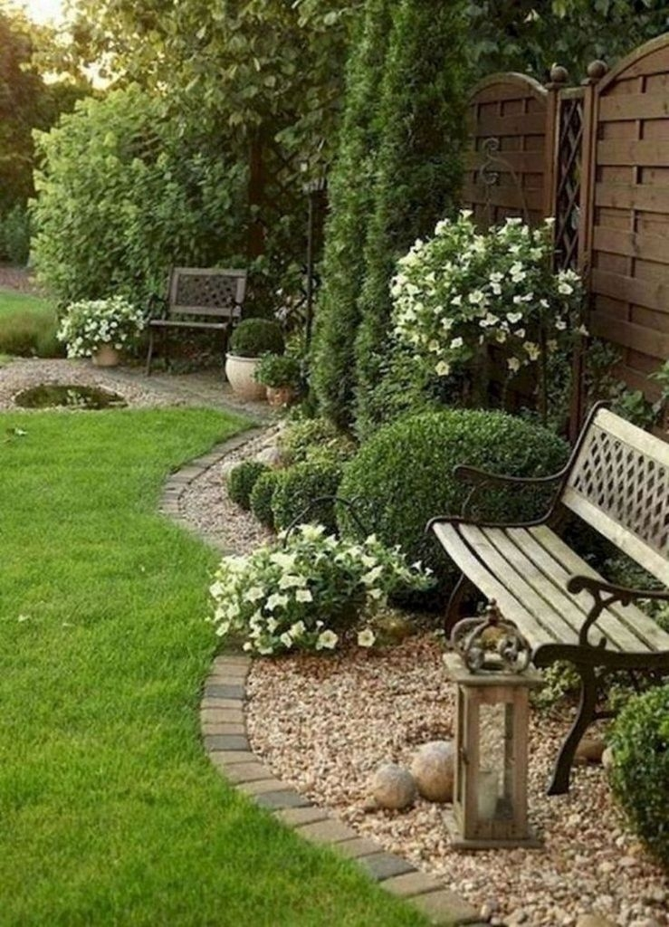 Simple But Beautiful Backyard Landscaping Idea On Budget 34