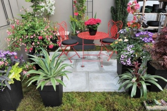 Small Courtyard Design With Some House Plants 19