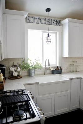 Small Kitchen Decor Idea With Farmhouse Style 12