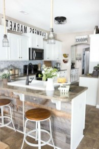 Small Kitchen Decor Idea With Farmhouse Style 14