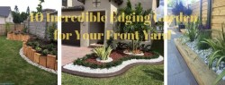 40 Incredible Edging Garden for Your Front Yard