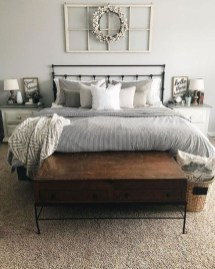 Best Farmhouse Bedroom Decoration You Can Do 25