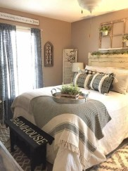 Best Farmhouse Bedroom Decoration You Can Do 31