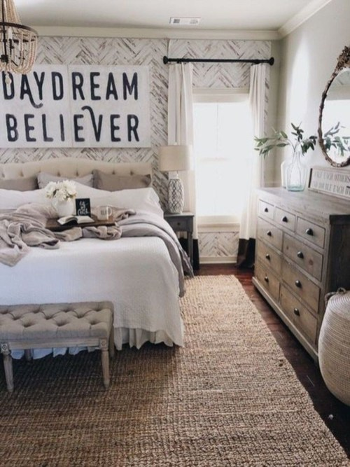 Best Farmhouse Bedroom Decoration You Can Do 35