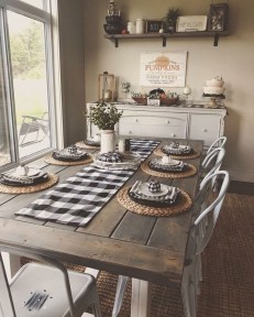 Farmhouse Kitchen Decorating Ideas With Wooden Cabinet 04