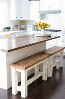 Farmhouse Kitchen Decorating Ideas With Wooden Cabinet 07