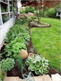Incredible Edging Garden For Your Front Yard 29