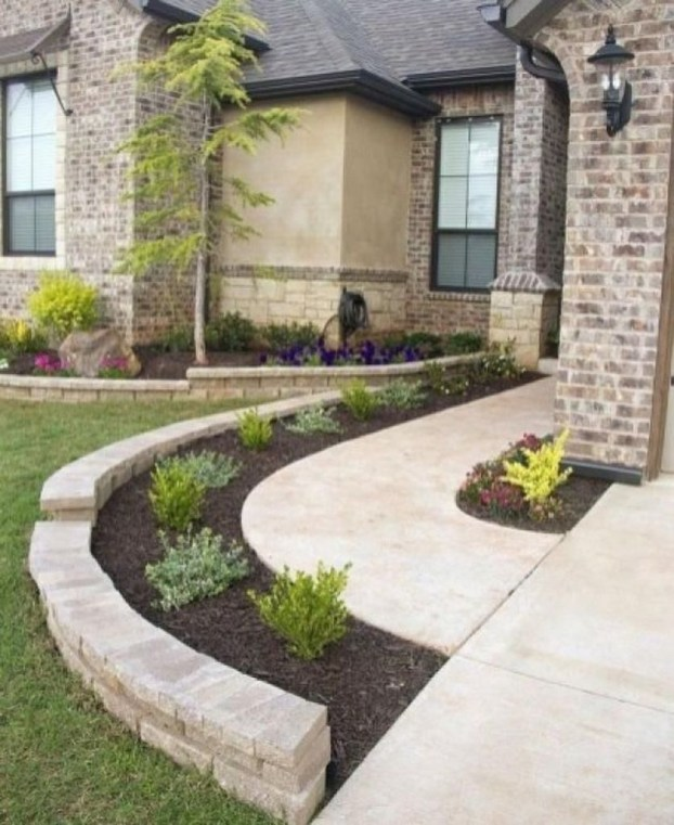 Incredible Edging Garden For Your Front Yard 40
