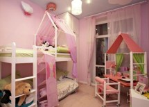 Lovely Small Bedroom Decor With Pink Nuance 14