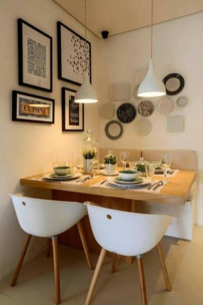 Lovely Small Dining Room Decoration In Your House 17