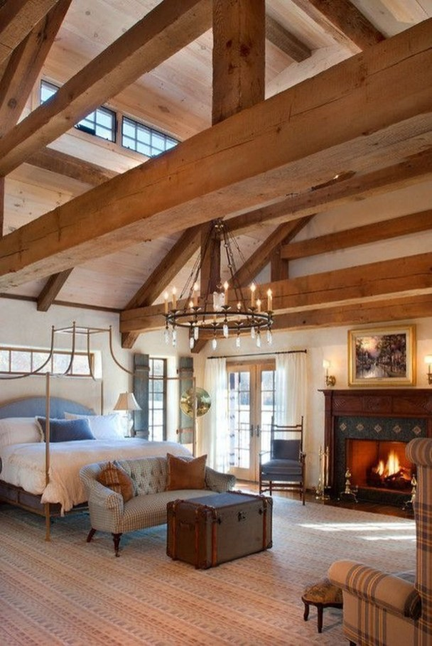 Nice Fall Bedroom Decoration For Farmhouse Style 07