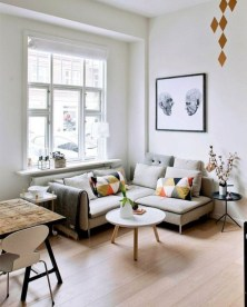 Perfect Small Living Room Design For Your Apartment 16